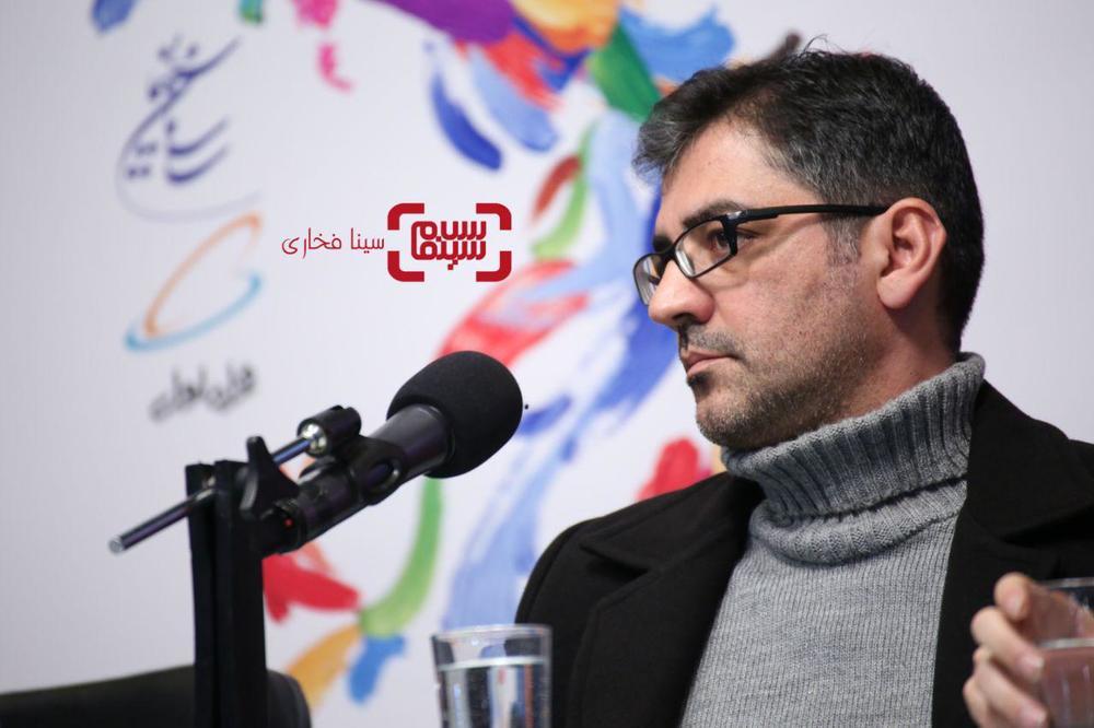 نیما جاویدی در اکران فیلم «سرخ پوست» در جشنواره فجر 37