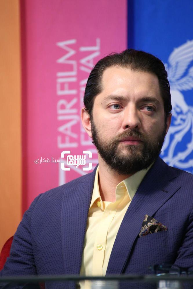بهرام رادان در نشست خبری فیلم سینمایی «ایده اصلی» در جشنواره فیلم فجر 37