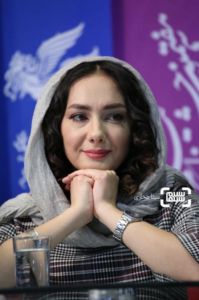 هانیه توسلی در نشست خبری فیلم سینمایی «ایده اصلی» در جشنواره فیلم فجر 37