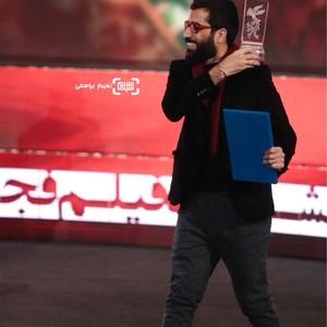 محمد کارت برنده سیمرغ بلورین بهترین فیلم کوتاه برای «بچه خور» در جشنواره فجر 37