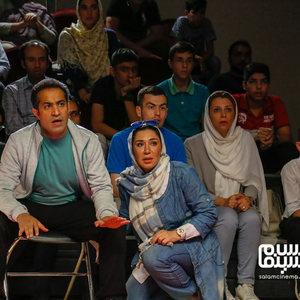 نسیم ادبی و افشین هاشمی در فیلم سینمایی «ضربه فنی»