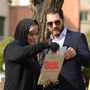 بهرام رادان و سحر قریشی در قسمت اول سریال «رقص روی شیشه»