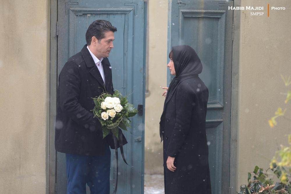 هانیه توسلی و یوسف مرادیان در فیلم «بن بست وثوق»