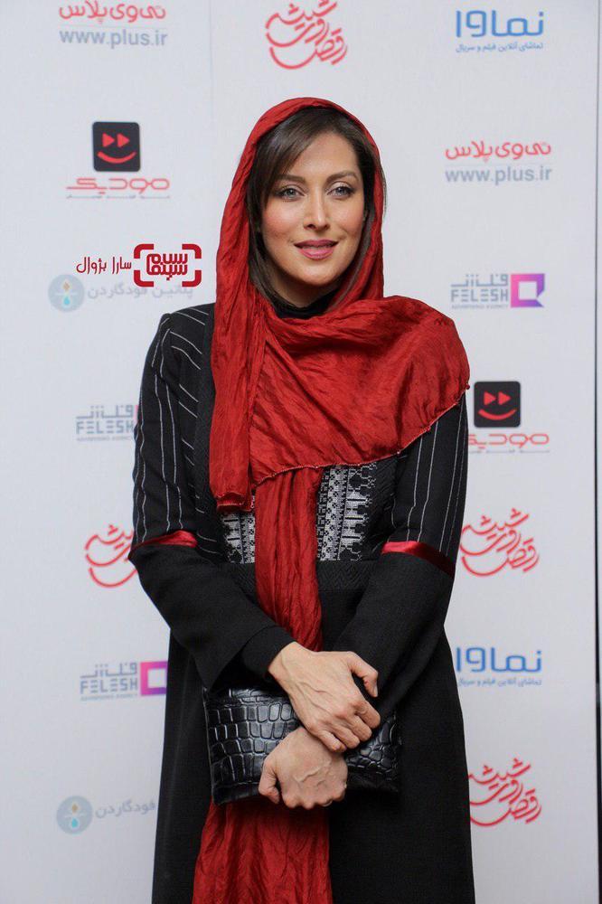 مهتاب کرامتی در افتتاحیه سریال «رقص روی شیشه»