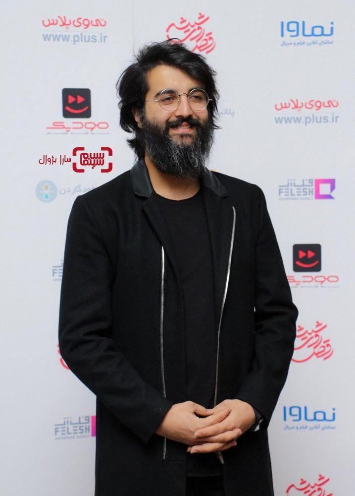 مهدی دارابی در افتتاحیه سریال «رقص روی شیشه» در سینما کوروش