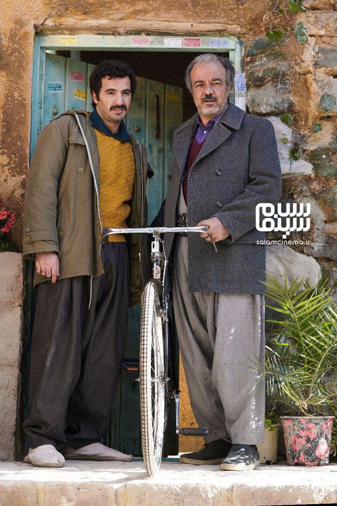پاشا جمالی و سعید آقاخانی در سریال تلویزیونی «نون. خ»