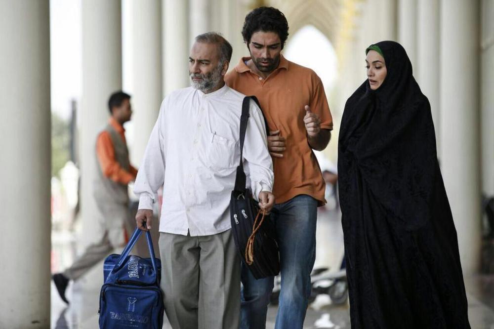 شهاب شادابی، حمیدرضا آذرنگ و میترا حجار در فیلم «دعوتنامه»