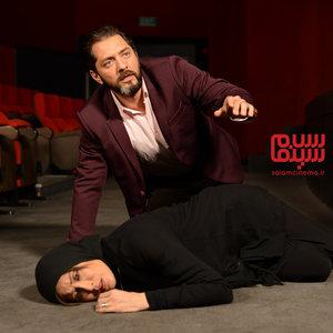 مهتاب کرامتی و بهرام رادان در قسمت دوم سریال «رقص روی شیشه»