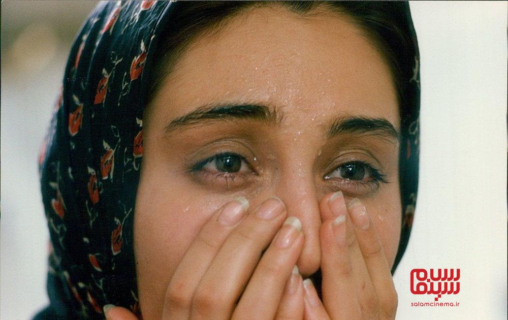 هدیه تهرانی در فیلم «دستهای آلوده»