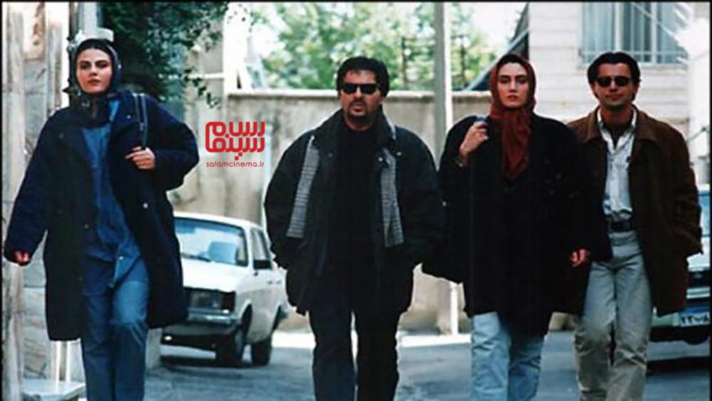 الهام ایمانی، ابوالفضل پورعرب، امین حیایی و هدیه تهرانی در فیلم «دستهای آلوده»