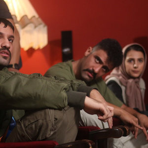 محمدامین کریم پور در نمایی از فیلم «سرکوفت»