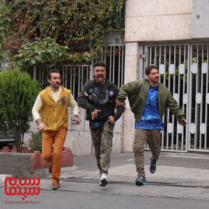 محمدامین کریم پور، محمد معماریان و وحید رحمتی در فیلم «سرکوفت»