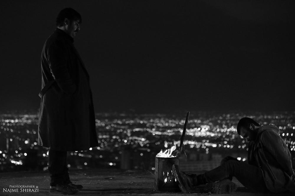 بابک قویدل و ابوالفضل وزیری در فیلم کوتاه «سکوت فریاد»