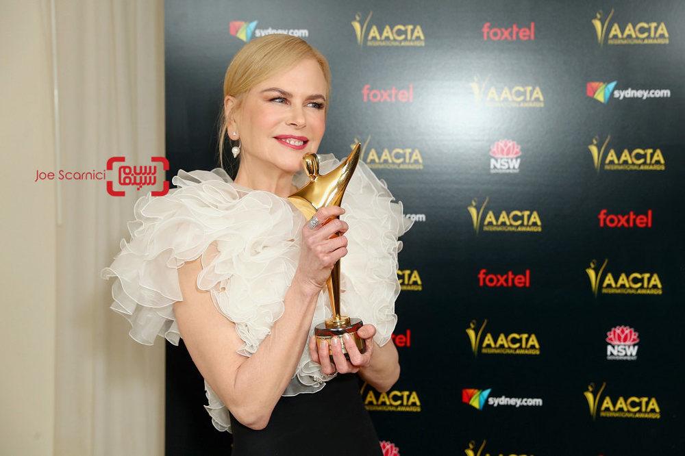 نیکول کیدمن برنده جایزه بین المللی آکادمی هنر استرالیا برای بازی در فیلم «پسر حذف شده»(Boy Erased)