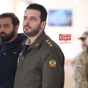 پدرام شریفی در سریال «سرباز»