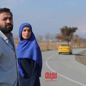 الیکا عبدالرزاقی و آرش مجیدی در سریال «سرباز»