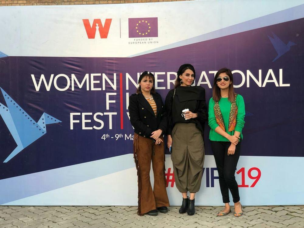 نسیم فروغ در اکران فیلم کوتاه «دژاوو» در جشنواره بین المللی فیلم زن