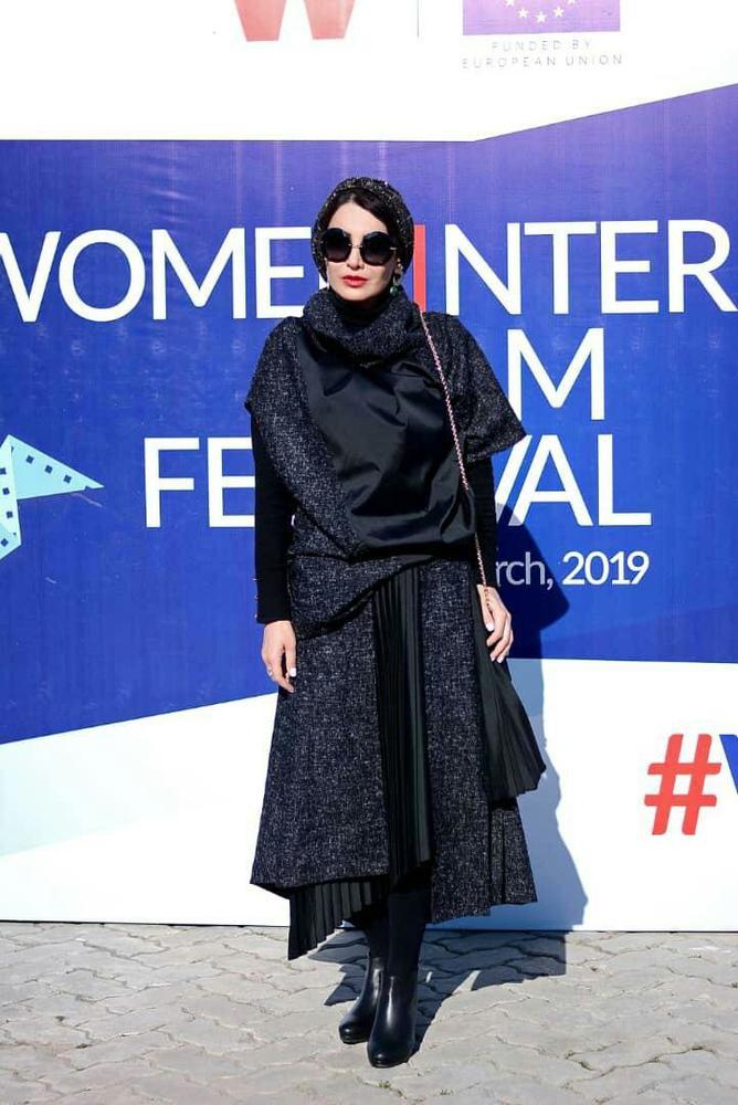 نسیم فروغ در اختتامیه فیلم کوتاه «دژاوو» در جشنواره بین المللی فیلم زن