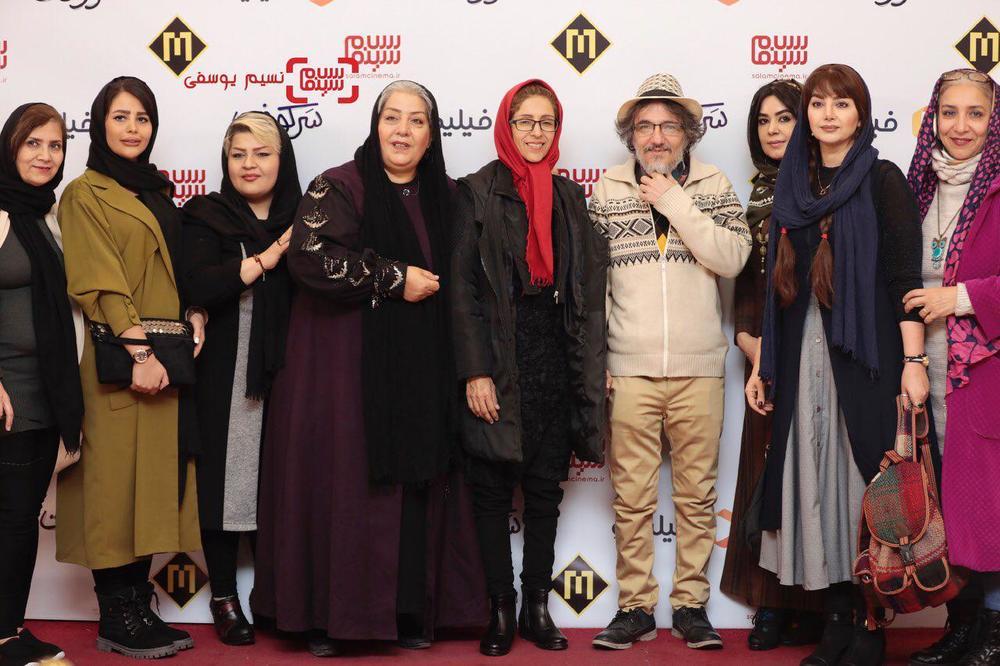 اکران خصوصی «سرکوفت» به کارگردانی کریم رجبی در سینما مگامال