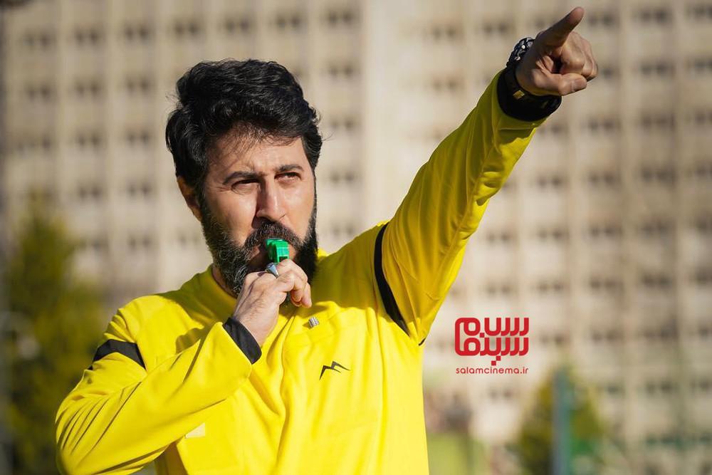 هومن حاجی عبدالهی در سریال تلویزیونی «نون.خ»