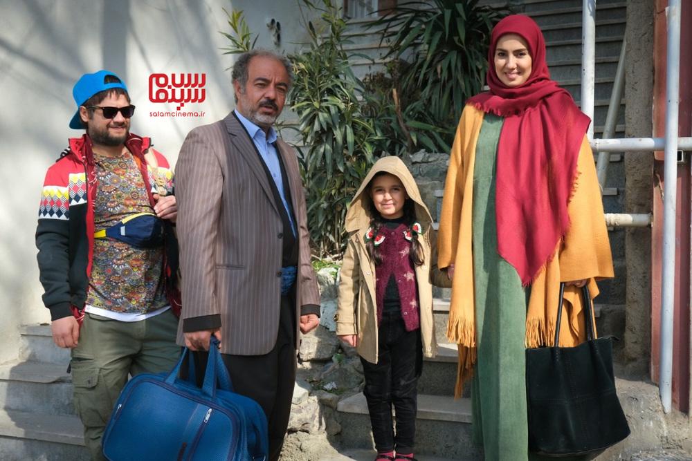 سعید آقاخانی، علی صادقی و شیدا یوسفی در سریال تلویزیونی «نون.خ»