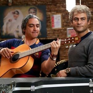 حسین یاری و مازیار فلاحی در فیلم «یادم تو را فراموش»