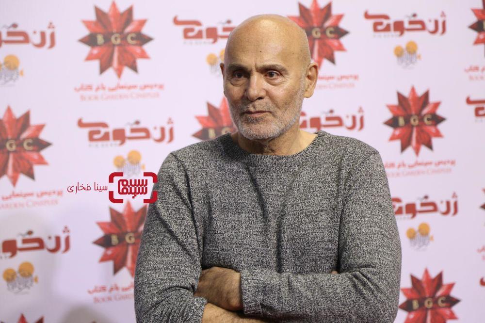جمشید هاشم پور در اکران خصوصی فیلم «ژن خوک»