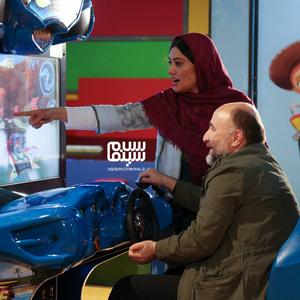 سودابه بیضایی و رضا بهبودی در فیلم سینمایی «ریست»