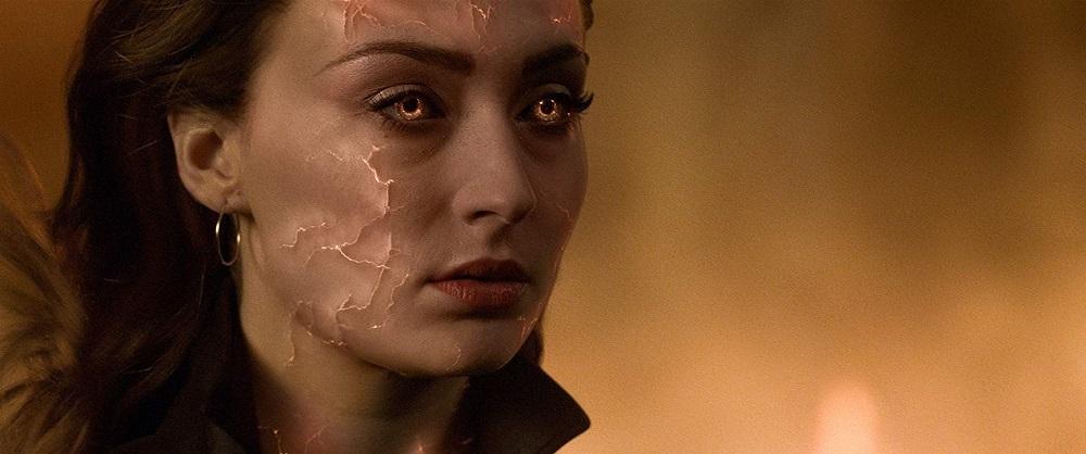 سوفی ترنر در نمایی از فیلم سینمایی مردان ایکس: ققنوس سیاه (X-Men: Dark Phoenix)