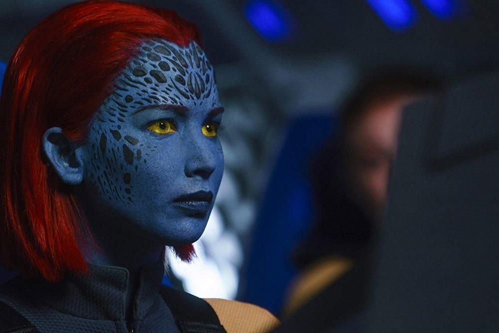 جنیفر لارنس در نمایی از فیلم سینمایی مردان ایکس: ققنوس سیاه (X-Men: Dark Phoenix)