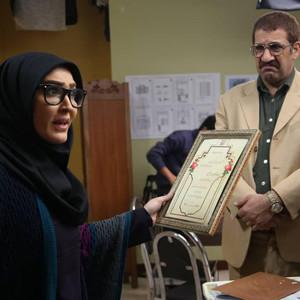 زهره فکورصبور و محمد نادری در سریال «دنگ و فنگ روزگار»