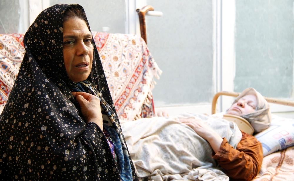 گوهر خیراندیش و رابعه مدنی در فیلم «خانه دیگری»